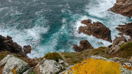 Scogliera sull'Atlantico