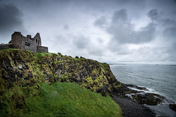 Dunluce Castle in Nord-Irland