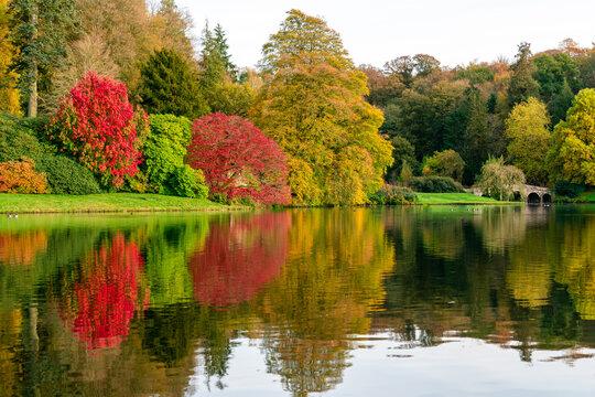 Autumn Colours Around the Lake Stourhead