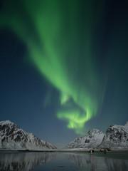 Keuken foto achterwand Noorderlicht Lofoten 1