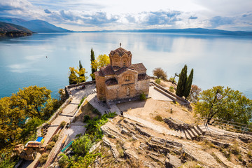 Church of St. John at Kaneo - Ohrid, Macedonia