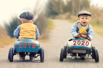 Jahreswechsel 2020 Fototapete
