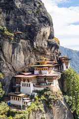 Wall Murals Place of worship Paro Taktsang in Bhutan