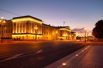 St. Petersburg Russia. The Admiralty Building