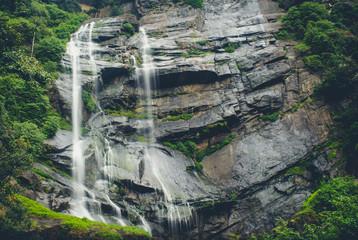 Bomburu Waterfall - Sri Lanka Wall mural