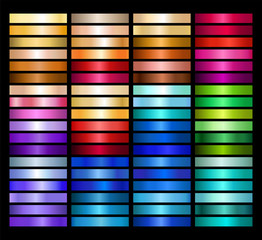Metal Gradient Collection of Every Color Swatches