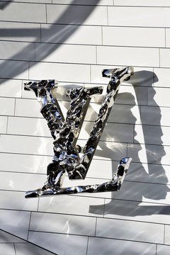 Paris, France - December 29, 2015: Museum of Contemporary Art of the Louis Vuitton Foundation