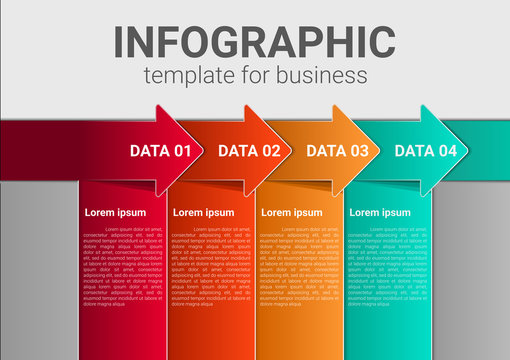 Infographic business marketing concept workflow layout design vector
