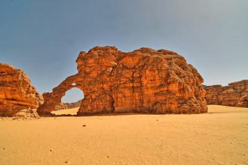 Formacje erozyjne na Saharze, Algieria
