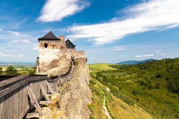 Aluminium Prints Eastern Europe Castle of Boldogko in Northern Hungary