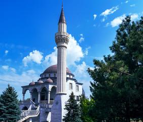Fotobehang Seoel Summer view of the mosque