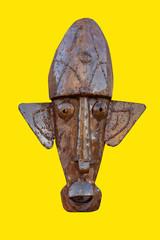 Relief art welded metal Africa
