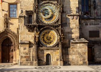 Prague astronomical clock in Czech Republic
