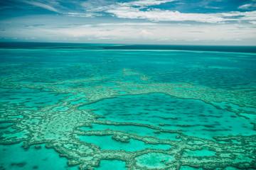 Great Barrier Reef Australia aerial view