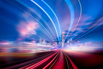 Motion speed effect in City
