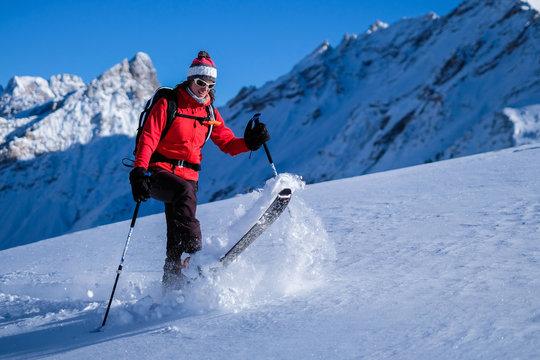 Happy skitouring