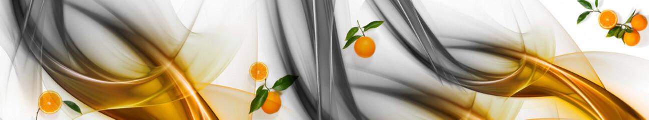 Pomarańcze i pomarańczowa fala