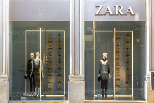 ZARA display window.