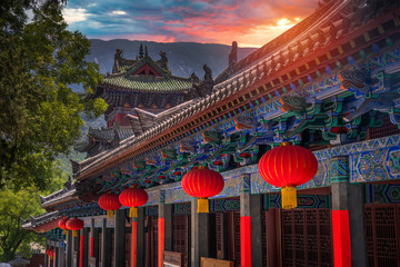 Canvas Prints Place of worship Shaolin is a Buddhist monastery in central China.