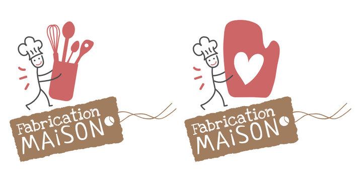 Logo fabrication maison