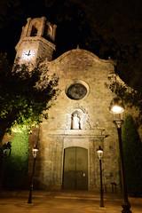 kirche in malgrat de mar in spanien