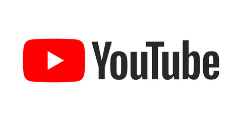 YouTube développement entreprise Youtube logo on a white background