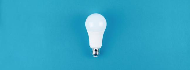 Energy saving and eco friendly LED light bulb Wall mural