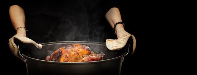 Hot Thanksgiving Turkey Dark Web Banner