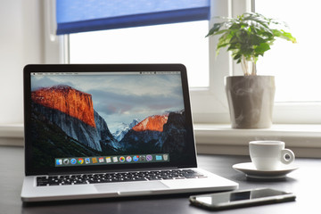 Macbook Pro with with Retina display