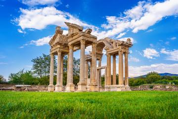 Aphrodisias ancient city in Turkey. Fototapete