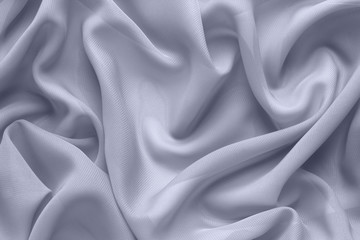Foto op Plexiglas Stof gray fabric with large folds