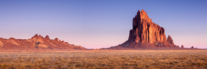 Shiprock New Mexico Southwestern Desert Landscape Wall mural