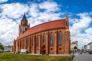 Fototapeta Konzertkirche, Neubrandenburg, Mecklenburg Vorpommern, Deutschland