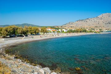 Fototapete - Lardos Beach Rhodes Greece Europe