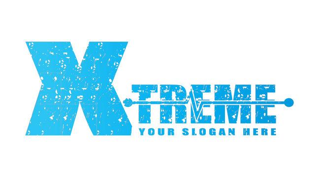 X-treme in text, xtreme logo