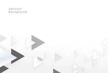Abstract geometric triangle graphic background creative design. Vector illustration.