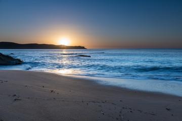 Blue Skies Sunrise Seascape