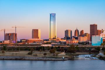 Predawn Oklahoma City