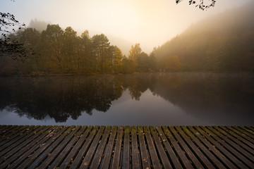 November Morgen am See