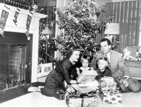 Christmas with the Vice President's family