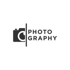 Creative Photography Concept Logo Design Template