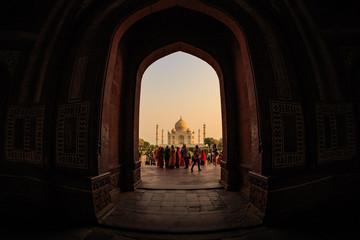The Great Gate of Taj Mahal