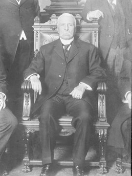 Porfirio Dxedaz (1830-1915), president of Mexico (1877-80, 1884-1911), established an authoritarian government which was overturned by the Mexican Revolution, 1910-20