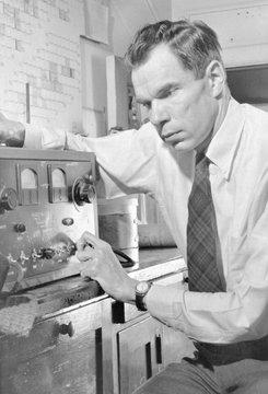 Glenn Seaborg (1912-1999), won the 1951 Nobel Prize in Chemistry for isolating and identifying transuranium elements (those heavier than uranium)