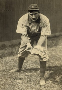 John Peter Honus Wagner played shortstop for the Pittsburgh Pirates from 1900 to 1917