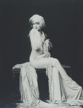 Actress and Ziegfeld girl Claudia Dell