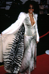 Cree Summer arriving at the American Music Awards