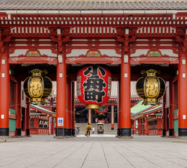 Fotobehang Bedehuis Entrance of Sensoji Temple
