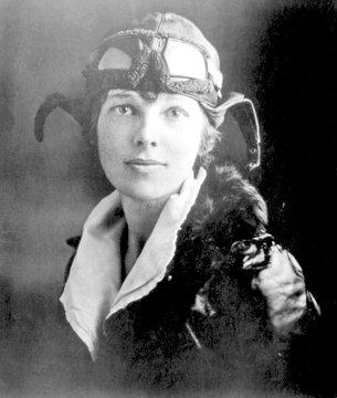 Amelia Earhart, circa late 1920s-early 1930s