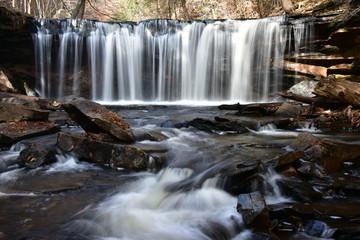 Ricketts Glen State Park, PA. beautiful waterfalls